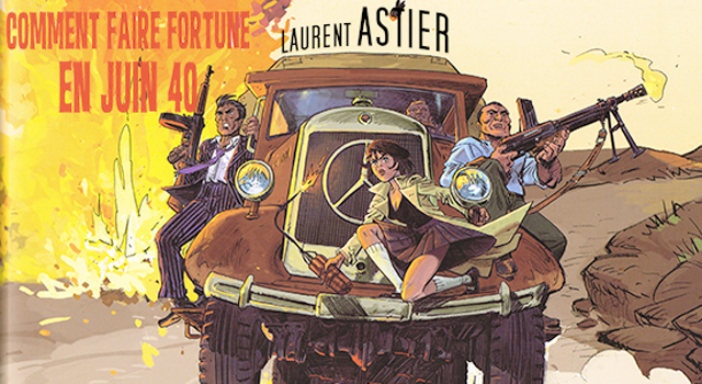 bande-dessinée, INTERVIEW: Laurent ASTIER