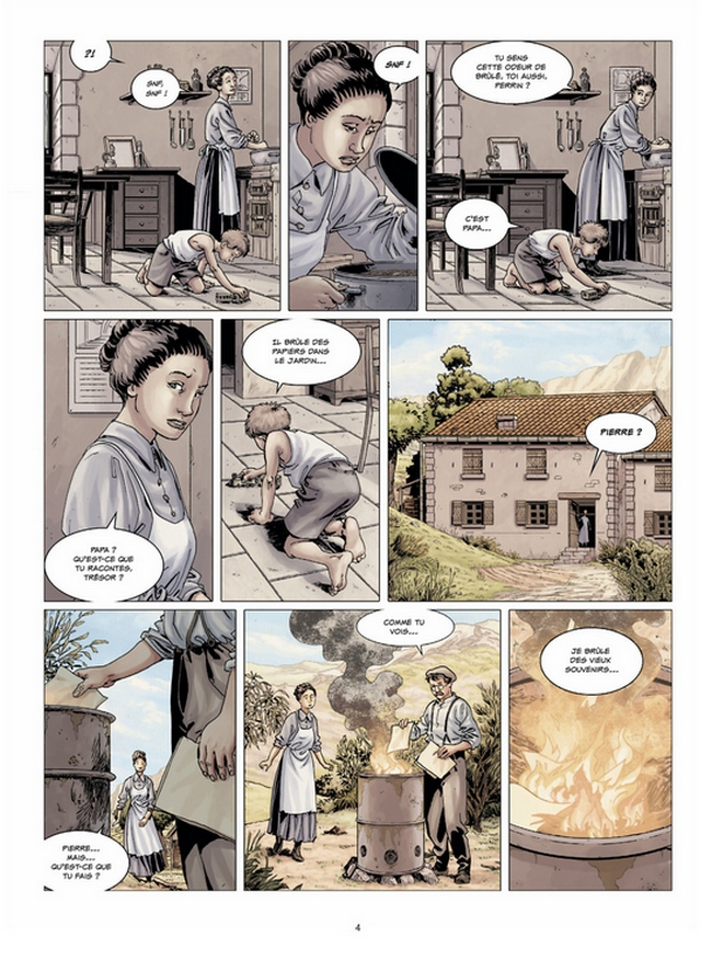 preview bande-dessinée, 14-18 T2 - E. corbeyran/E. Le Roux - Delcourt - Preview