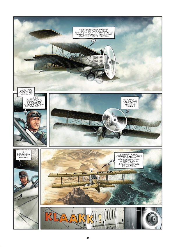 preview bande-dessinée, AEROPOSTALE (L') - Des Pilotes de légende - T2 - Preview