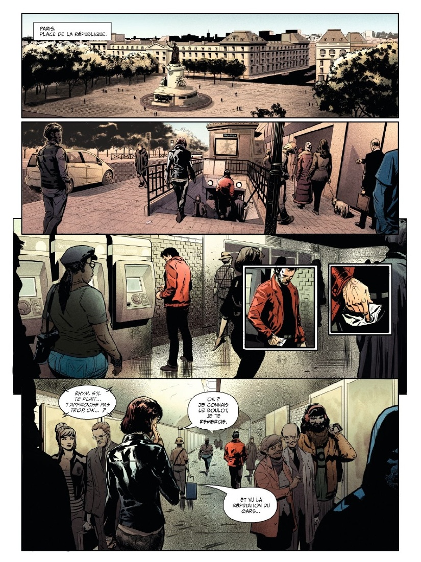 preview bande-dessinée, L'AGENT - T1 - M. Gabella/F. Dagnino - Glénat - Preview