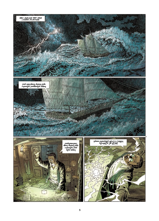 preview bande-dessinée, BADLANDS T1 - Corbeyran & Kowalski - Soleil - Preview