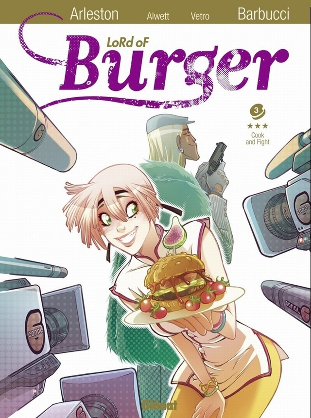 preview bande-dessinée, LORD OF BURGER T3 - Arleston, Alwette, Barbucci, Vetro - Preview
