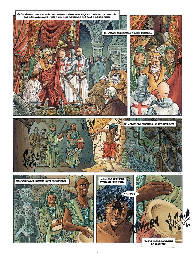 preview bande-dessinée, CROISADE T6 - Jean Dufaux & Philippe Xavier - Preview