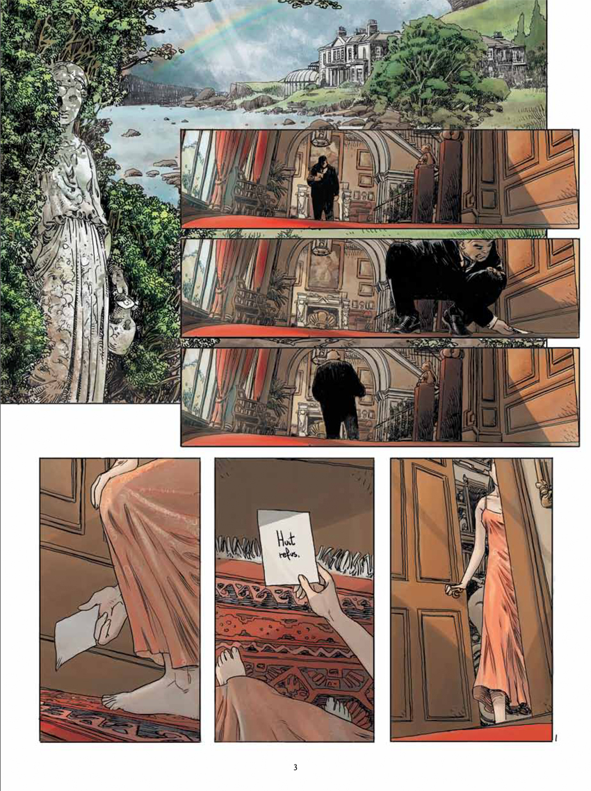 preview bande-dessinée, Cutting Edge Tome 1 aux Editions Delcourt