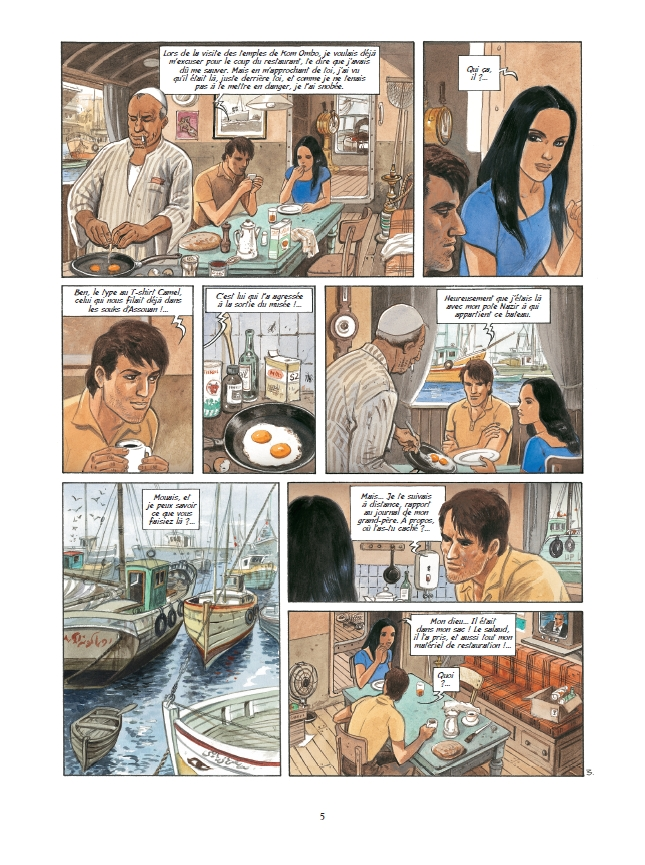 preview bande-dessinée, ELLA MAHE - T3 - Maryse & J. François Charles, Brice Goepfert - Preview