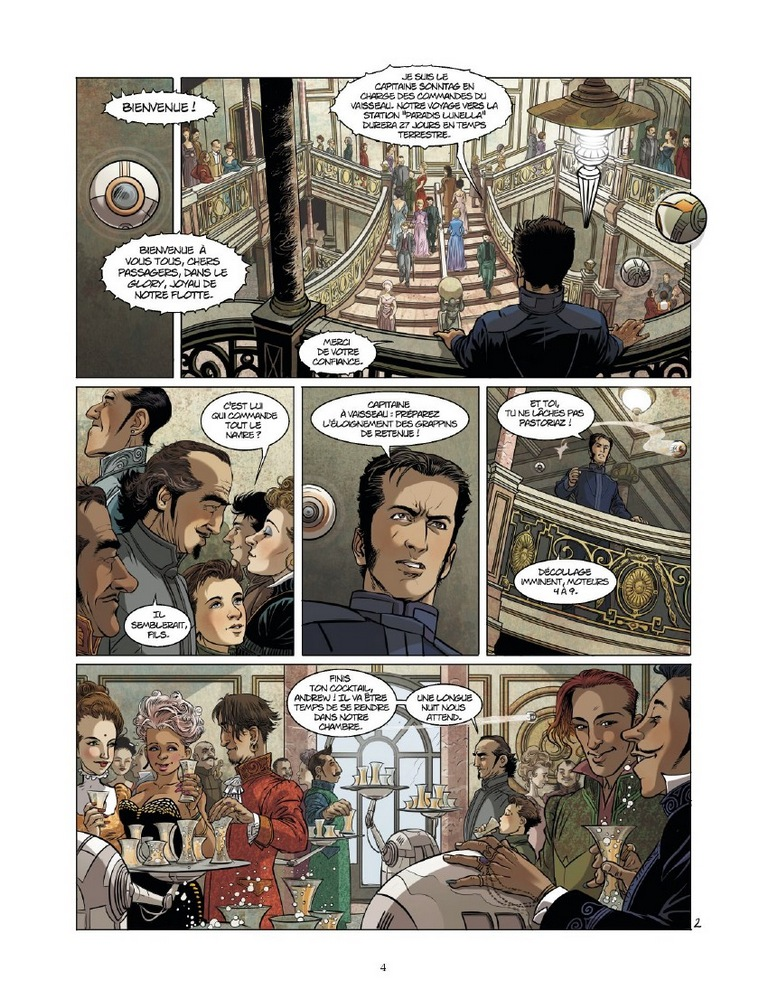 preview bande-dessinée, EXILIUM T1 - C. SIMON/E. STALNER - GLENAT - Preview