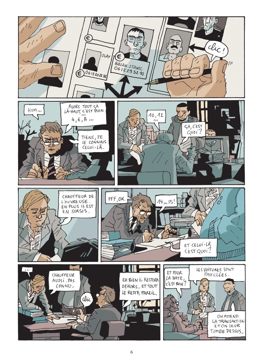 preview bande-dessinée, GOST111 - M.Eacersall/H.Scala/M.Mousse - Glénat - preview