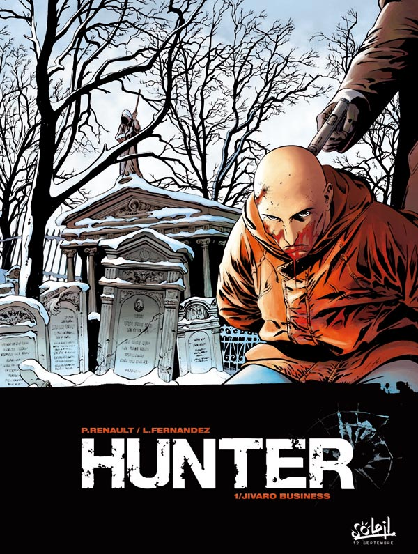 preview bande-dessinée, HUNTER, Jivaro business (tome 1)