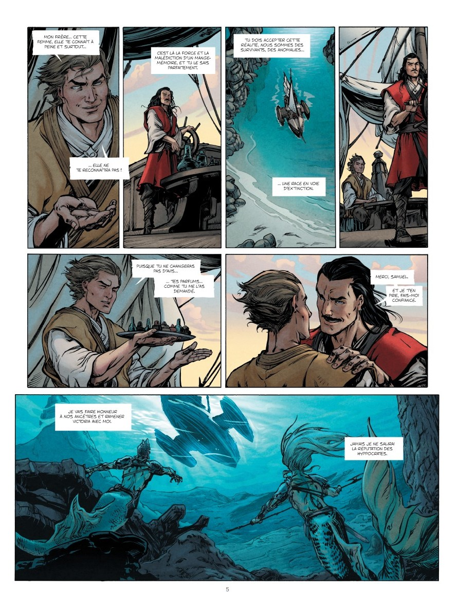 preview bande-dessinée, JACOB KAYNE T2 - S.Runberg/M.Guerrero - Le Lombard - preview