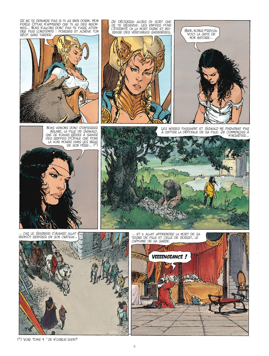 preview bande-dessinée, Kriss de Valmor tome 2