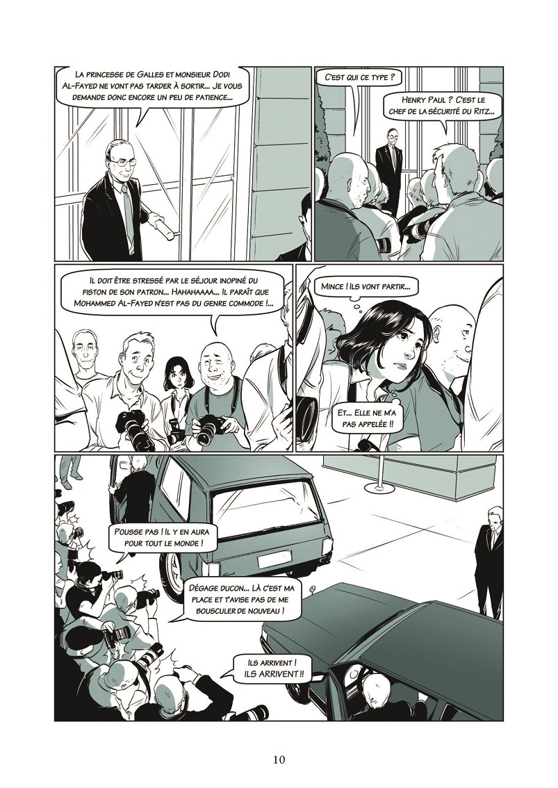 preview bande-dessinée, LADY DI & ME T1 - JC Bartoll/Y. Li - Glénat - Preview