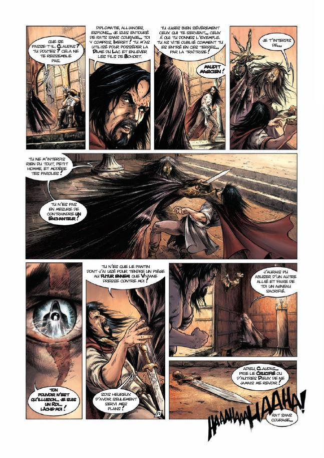 preview bande-dessinée, Preview : Lancelot T2