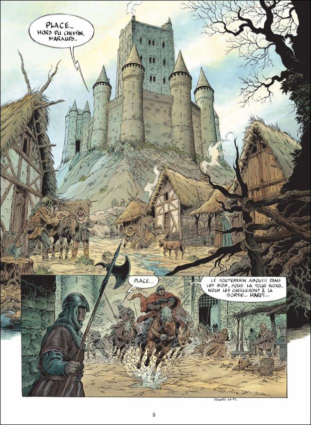 preview bande-dessinée, Légende, tome 4