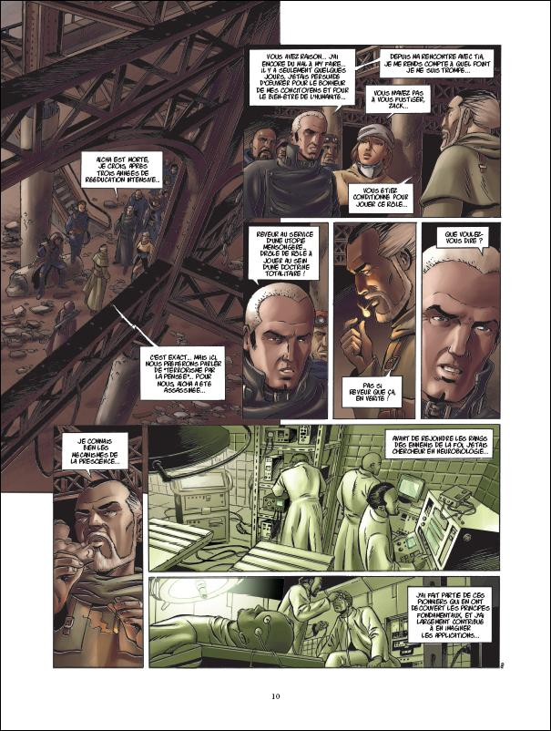 preview bande-dessinée, Uchronie[s] / New Byzance, tome 2