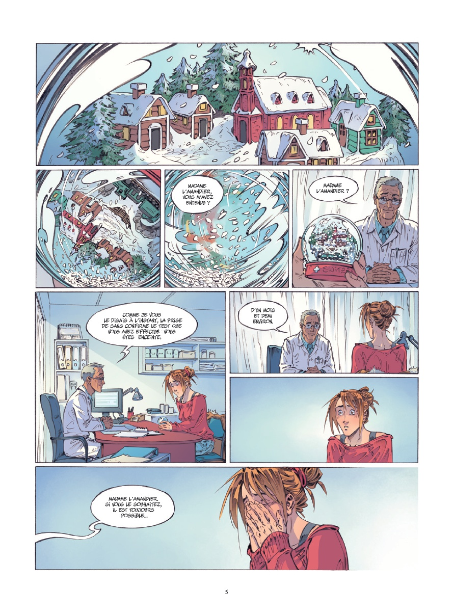 preview bande-dessinée, NOS EMBELLIES - G. Morizur/M. Duvoisin - Bamboo - Preview