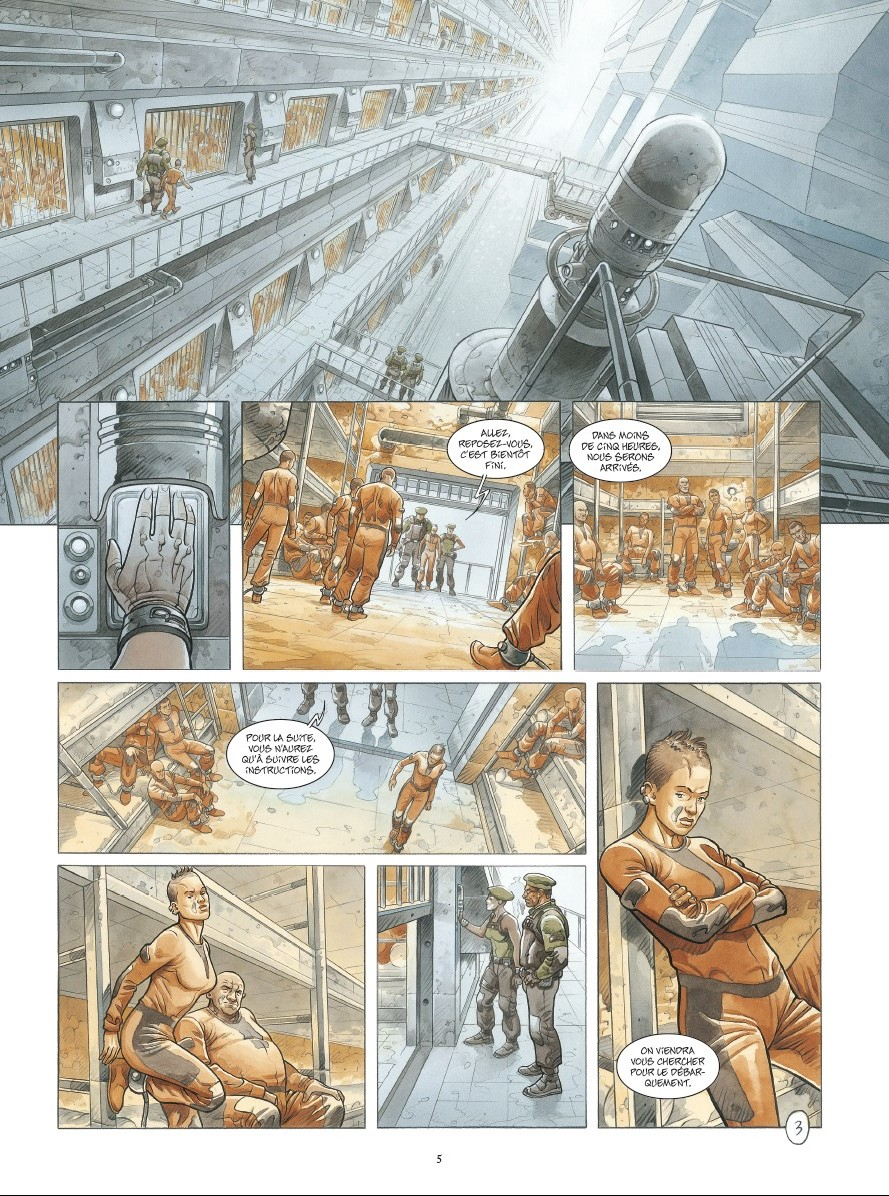 preview bande-dessinée, ON MARS - T1 - S. Runberg/Grun - Daniel Maghen - Preview