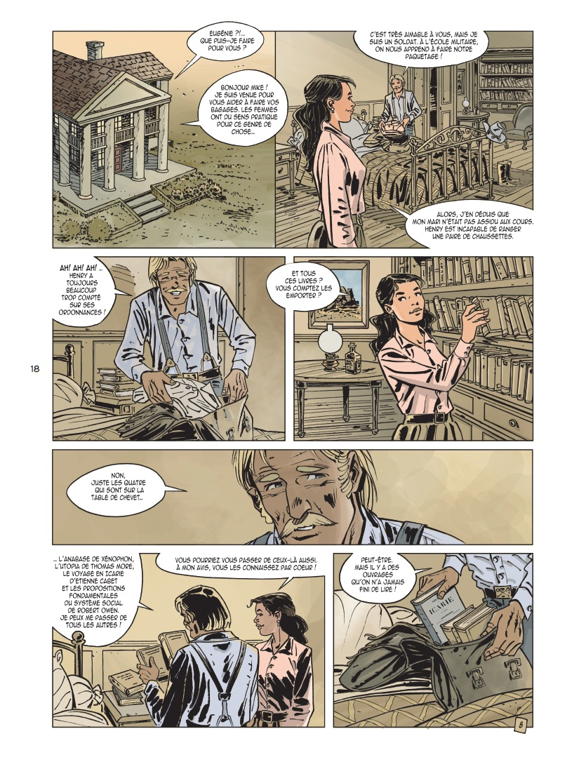 preview bande-dessinée, L'OR DE MORRISON T1 - Seiter/Brecht - Editions du Long Bec - Preview