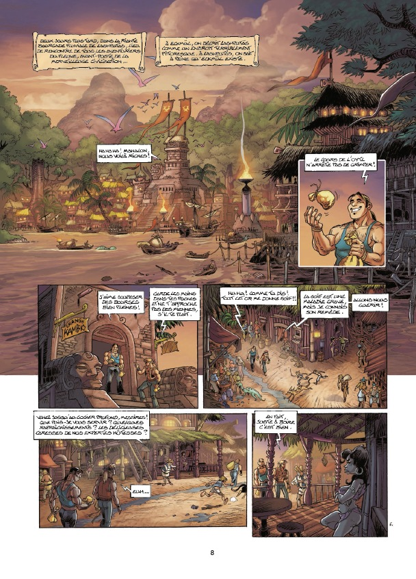 preview bande-dessinée, PLOENÏS - Arleston, Sala & Hubsch - Soleil - Preview