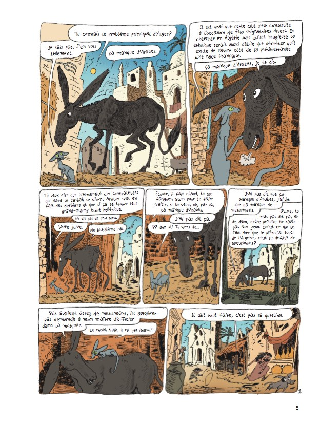 preview bande-dessinée, Le Chat du Rabbin