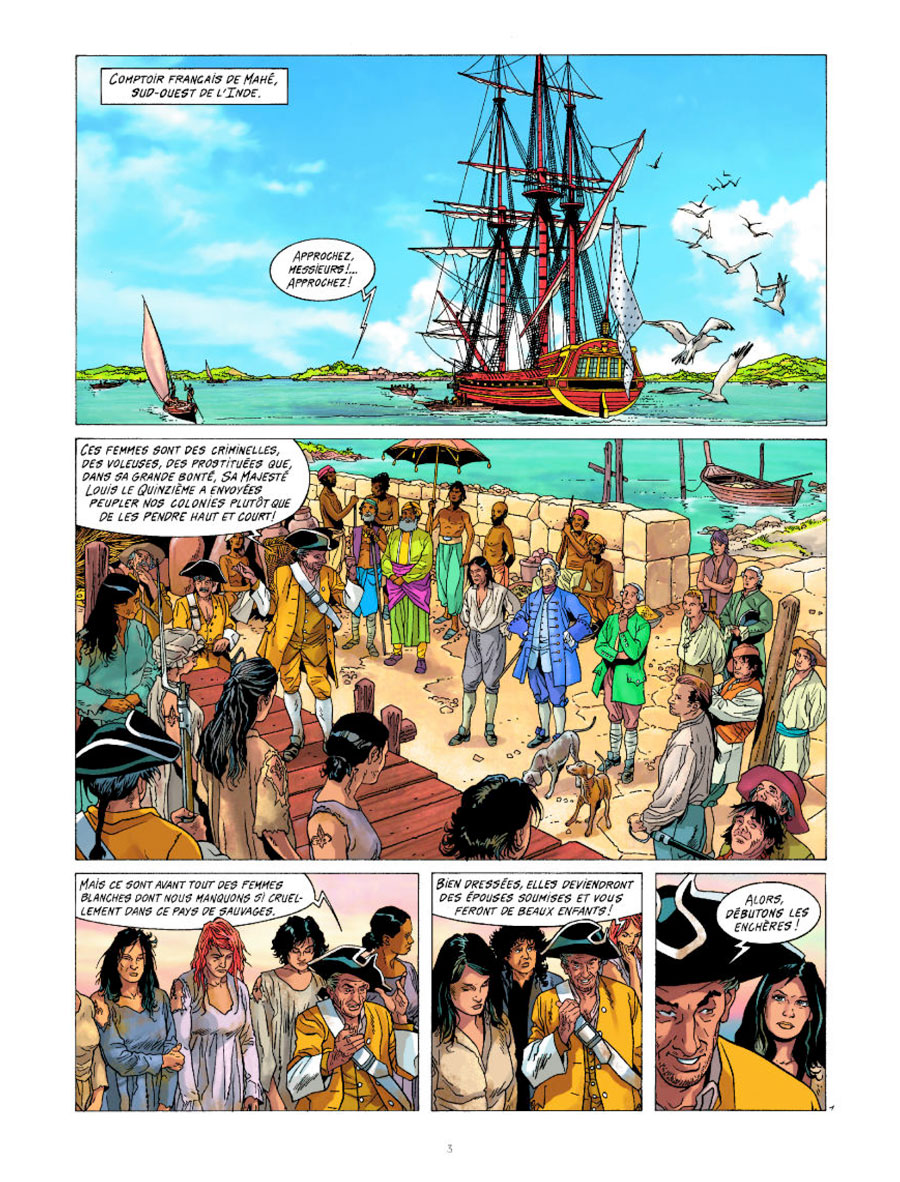preview bande-dessinée, Rani, tome 3, Esclave au Editions