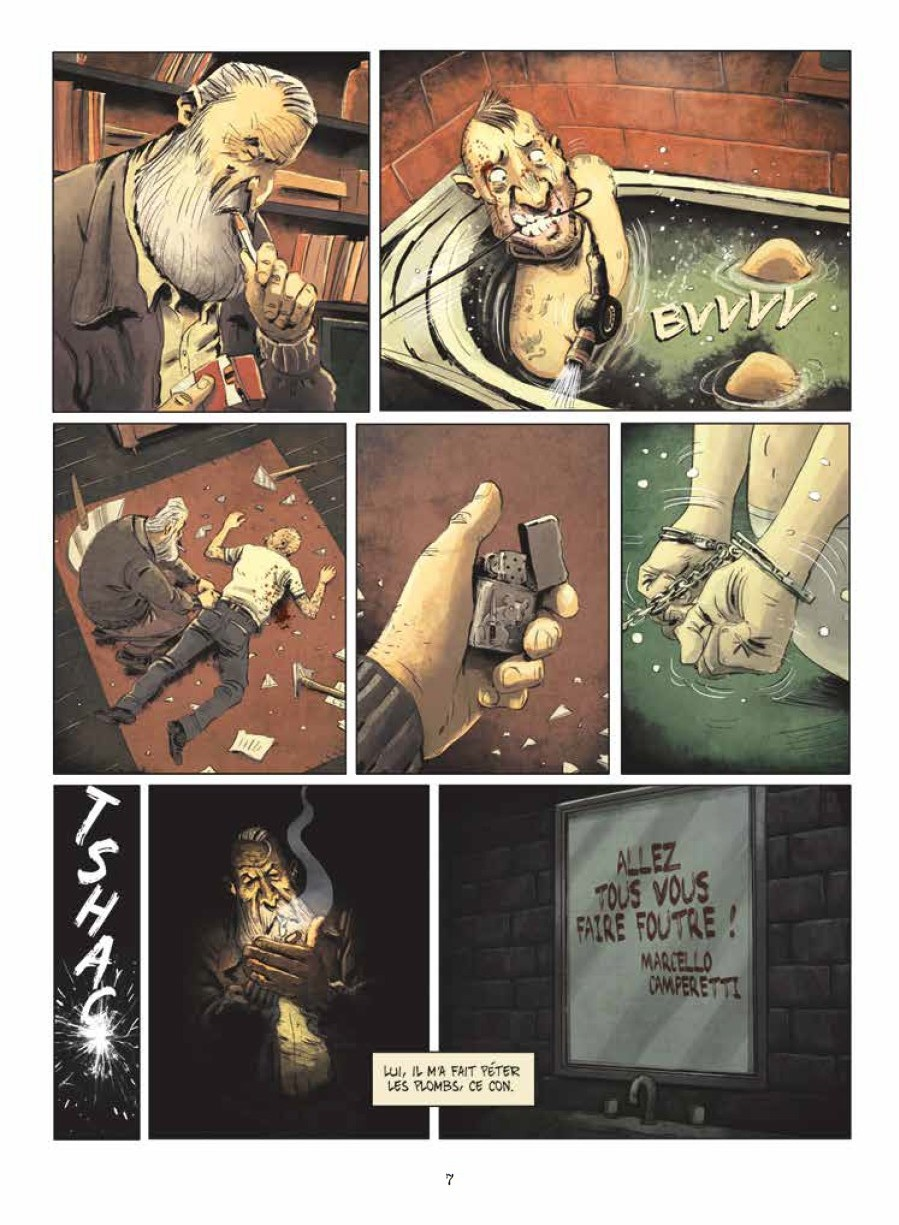 preview bande-dessinée, RIP tome 2 - Gaet's/Monier - Petit à Petit - Preview