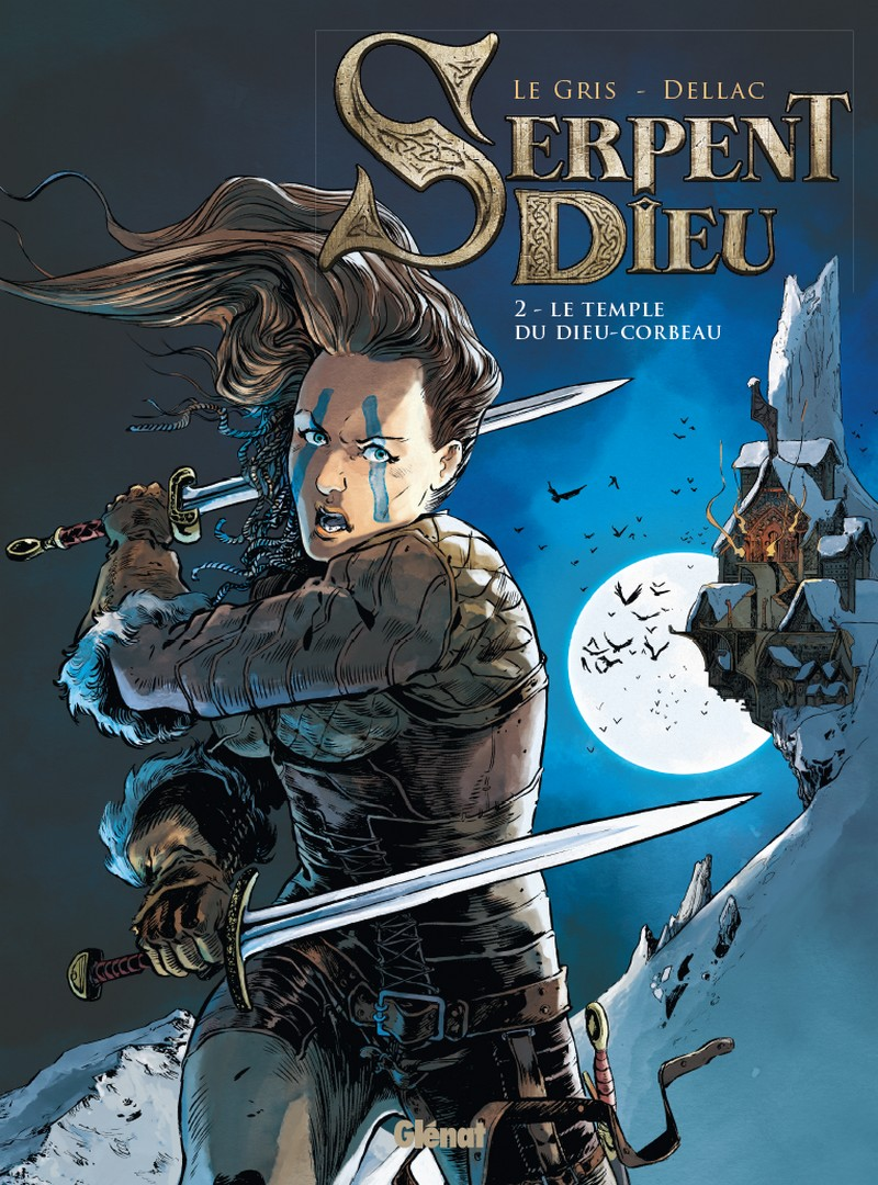 preview bande-dessinée, SERPENT DIEU Tome 2 - B. Dellac/J. Le Gris - Glénat - Preview