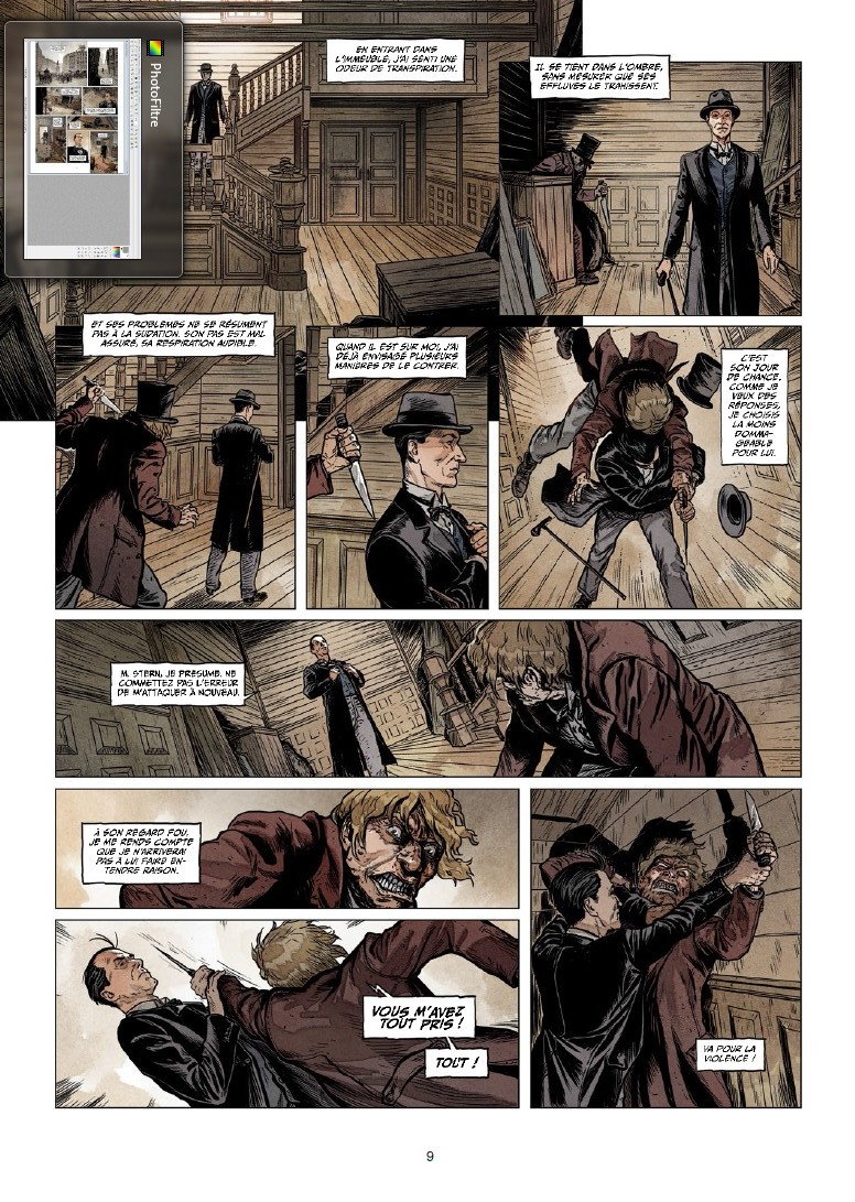 preview bande-dessinée, SHERLOCK HOLMES SOCIETY T2 - S. Cordurie/E. Torrents - Preview