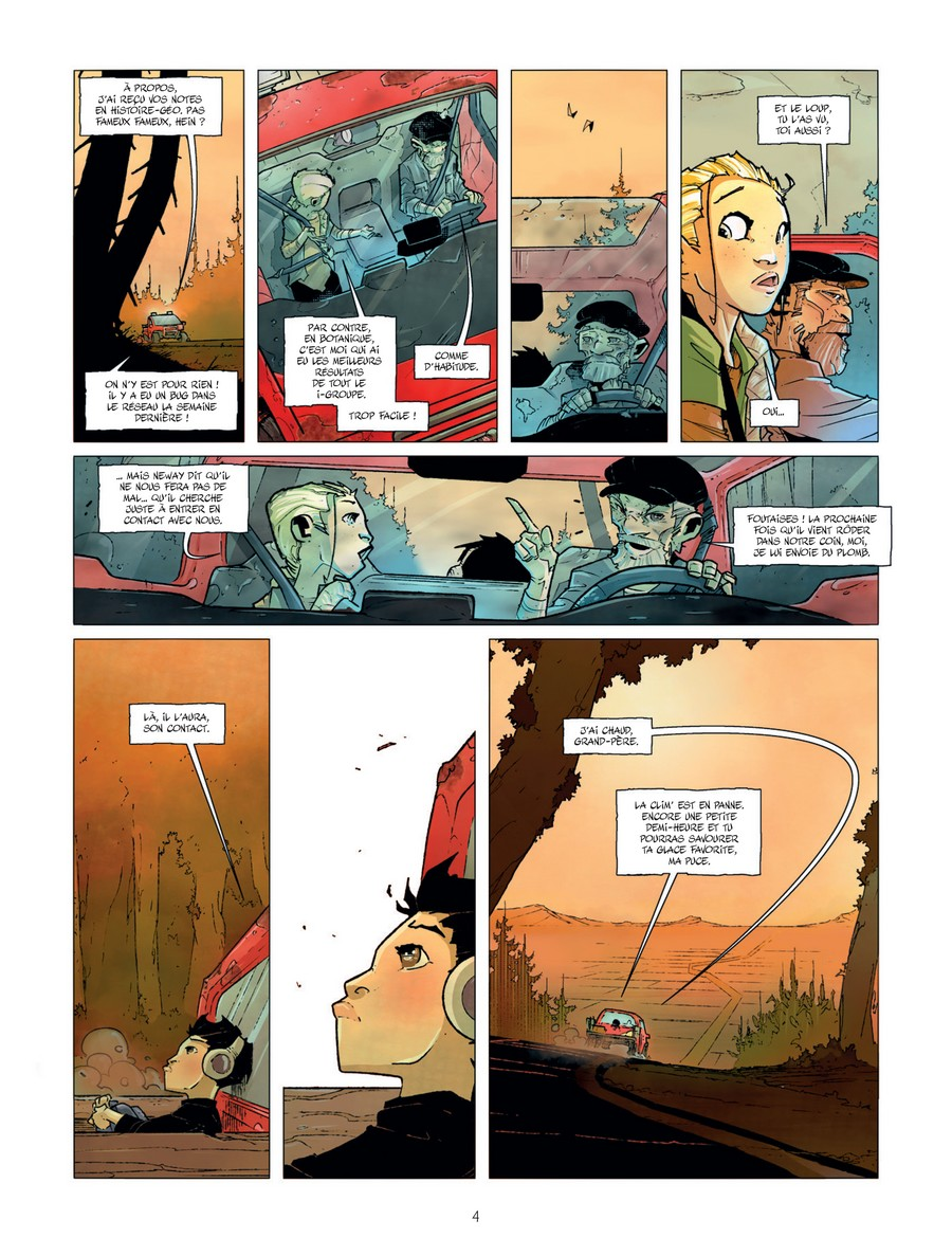 preview bande-dessinée, TERENCE TROLLEY T1 - S.Letendre/P.Boutin-Gagné - BAMBOO - Preview
