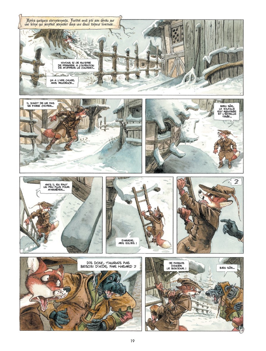 preview bande-dessinée, TRACNAR & FARIBOL - B du Peloux - Drakoo - Preview