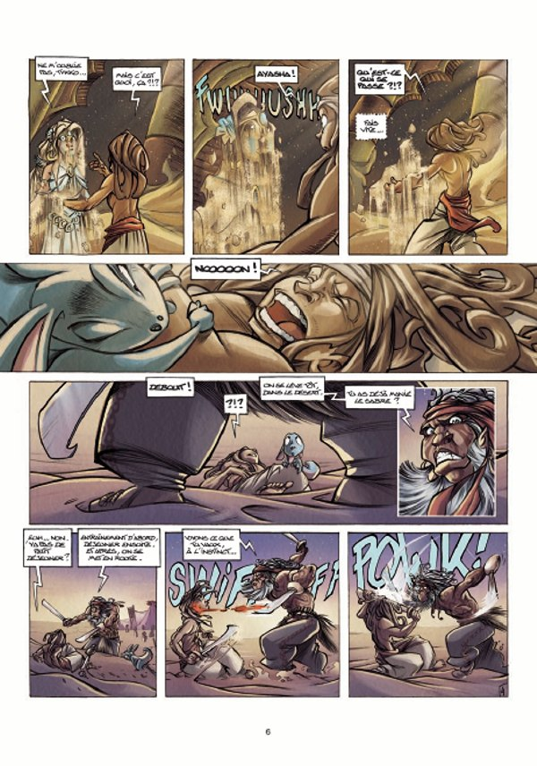 preview bande-dessinée, TYKKO DES SABLES Tome 2 - Aleston/Melanÿn/Kéramidas - Preview de 10 planches