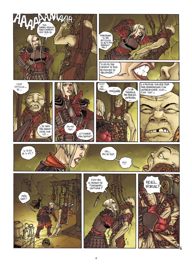 preview bande-dessinée, Zorn et Dirna tome 4