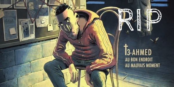 Previews bande-dessinée, RIP tome 3 - Gaets/Monier - Petit à Petit - Preview