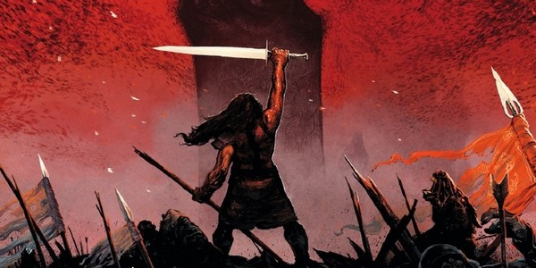 Previews bande-dessinée, CONAN LE CIMMERIEN - Le Colosse noir - V. BRUGEAS /R.TOULHOAT - Glénat - Preview