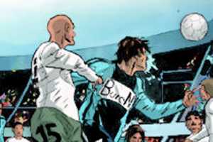 Previews bande-dessinée, PREVIEW de GOAL BUSINESS le tome 3 dIRS TEAM la BD de Desberg et Koller