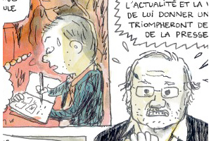 Previews bande-dessinée, JOURNAL DUN JOURNAL - Mathieu Sapin - Delcourt - Preview
