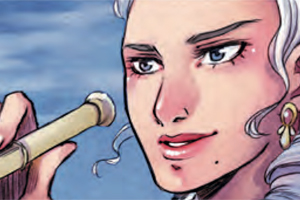 Previews bande-dessinée, LADY LIBERTY tome 1: Le secret du Roi