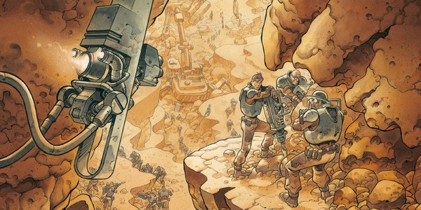 Previews bande-dessinée, ON MARS - T1 - S. Runberg/Grun - Daniel Maghen - Preview