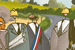 Previews bande-dessinée, VILLAGE TOXIQUE de Grégory Jarry et Otto T. - Preview de 10 planches