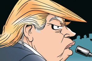 Previews bande-dessinée, TRUMP Enorme! chez Hachette Comics